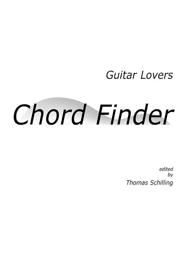 Chord Finder of transposable guitar chords | English guitar ...