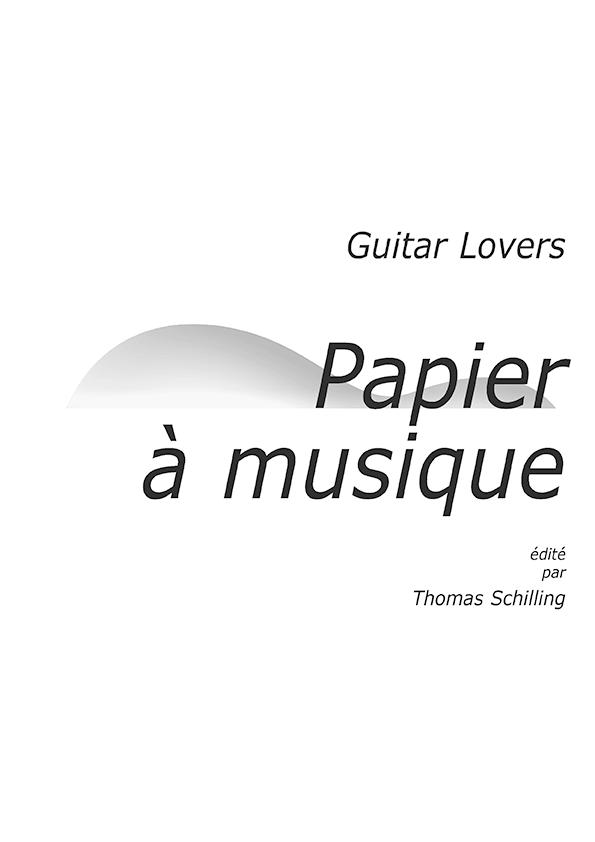 Guitar Lovers Papier à musique